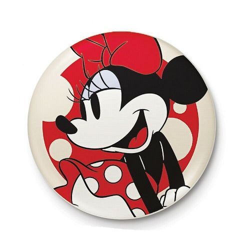 Disney Classic Minnie Mouse Pose Button Badge